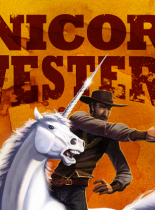 Unicorn Western cover - Copyright 2012-2013 ~squidbunny